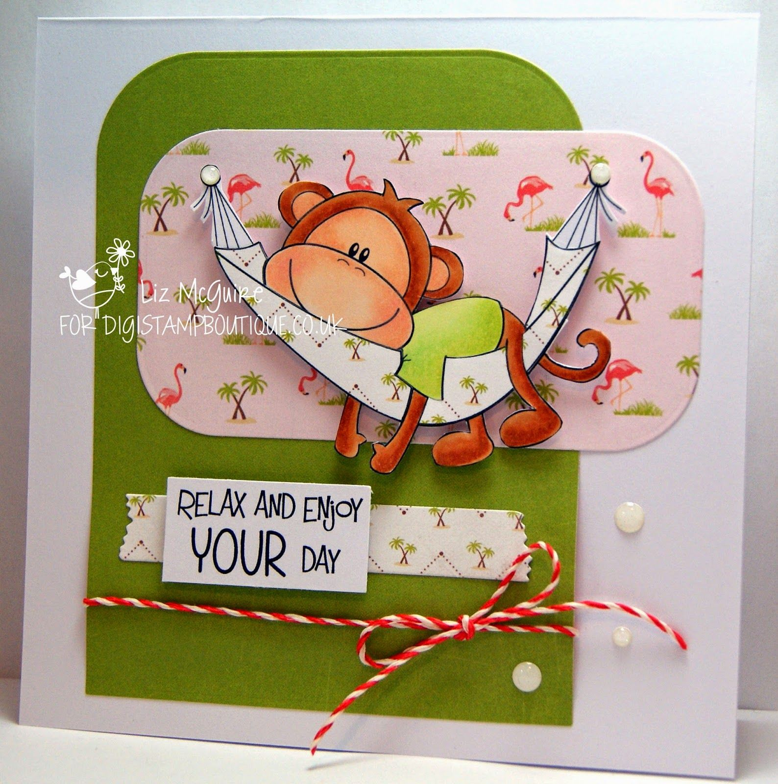 Digistamp Boutique Cheeky Monkey Mens Cards Pinterest Monkey