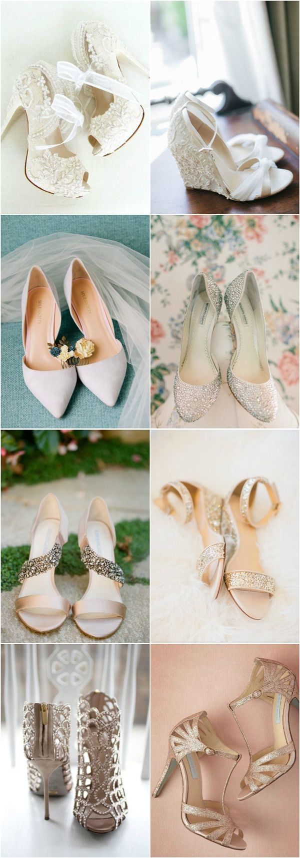 20 Most Wanted Wedding Shoes For Stylish Brides Unique