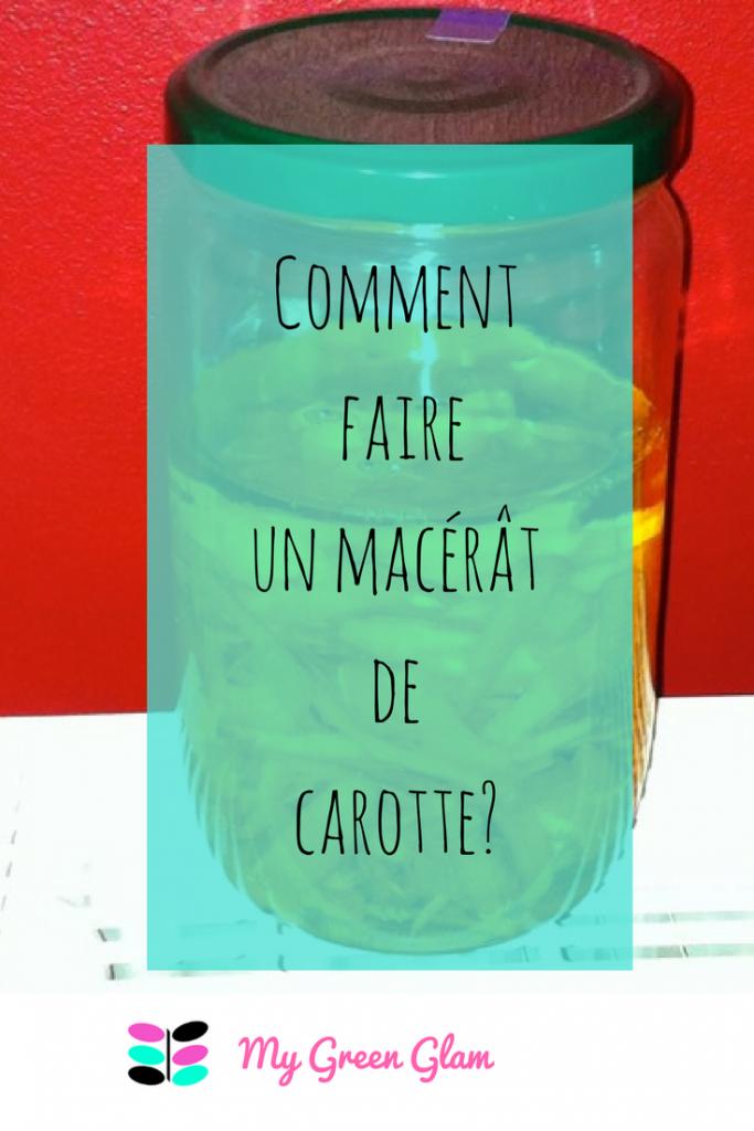 Comment faire son macérât de carotte ? | Comment faire, Belle au naturel, Carotte