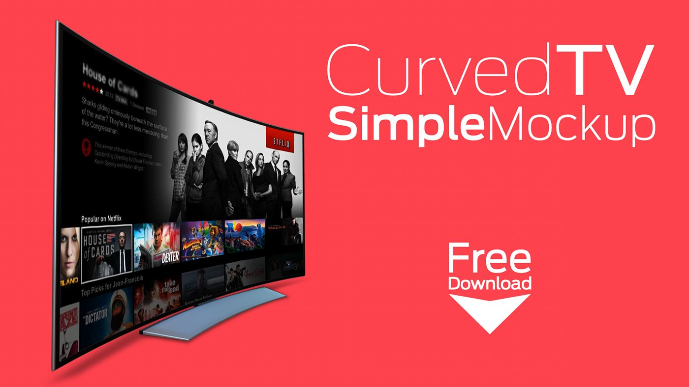 Free Curved Tv Simple Mockup Psd 6 4 Mb Rogerio Marcos On Behance Free Photoshop Mockup Psd Curved Mockup Free Download Photoshop Mockup Mockup Psd