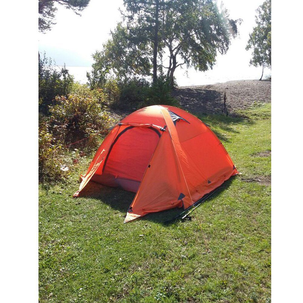 WINGACE Winter Tent 2 Persons 34 Tourist Double Layer ...