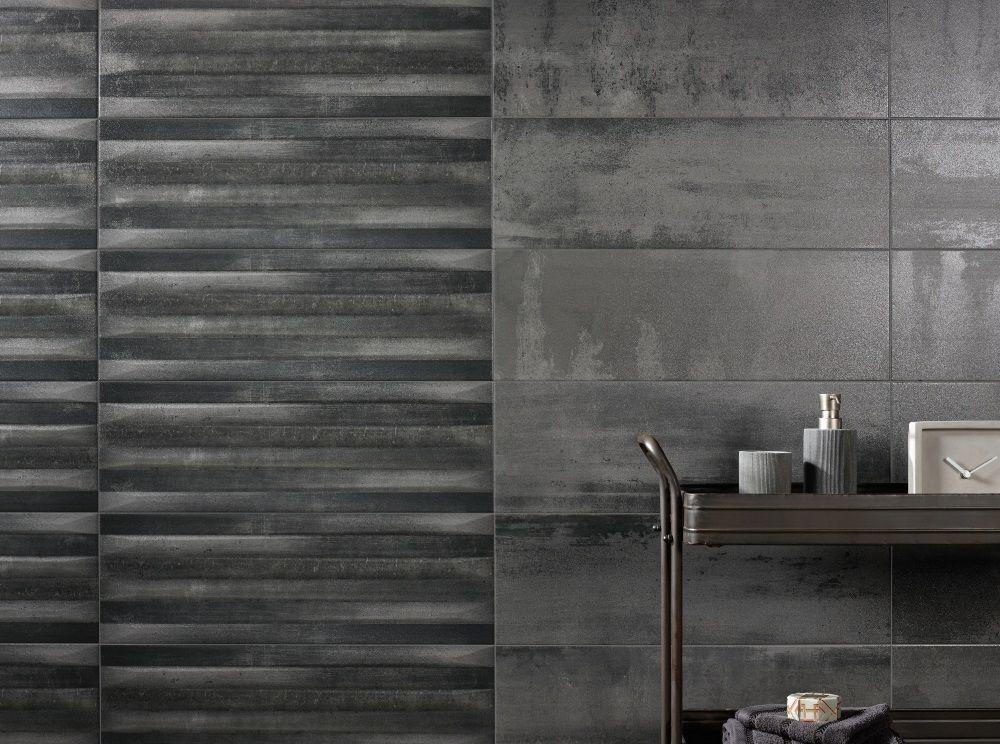 Faience Metalart Tiles Texture Wall Panels Porcelain Tile