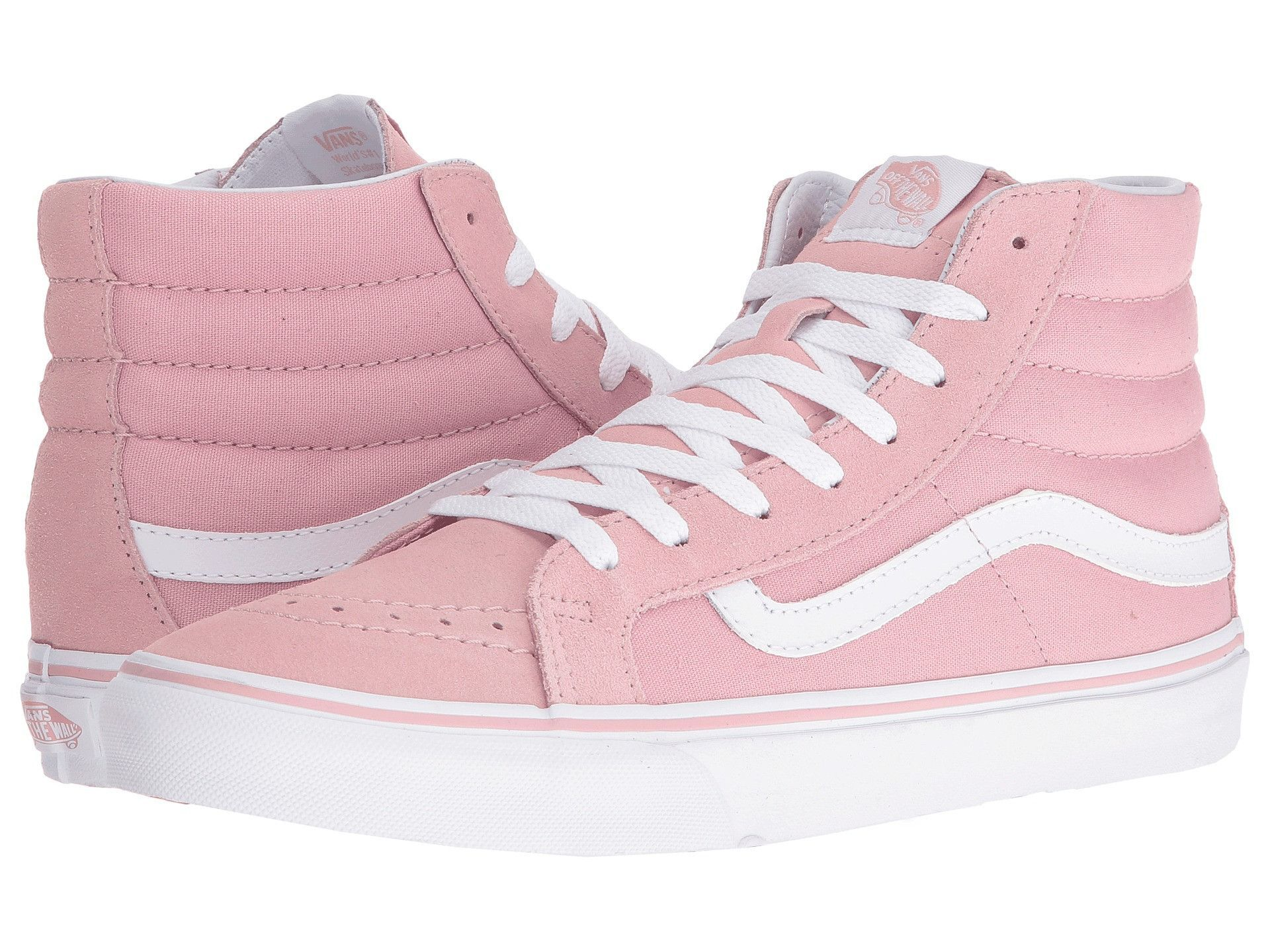 Women's Sk8- Hi Slim Skateboarding Shoe Zephyr/True White