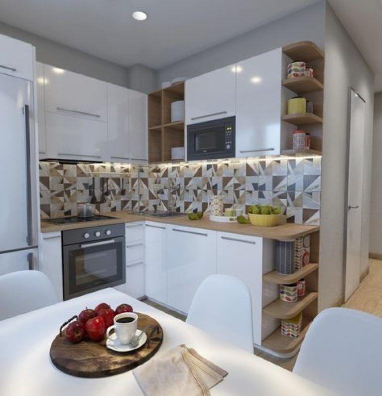 Дизайн Малогабаритной Кухни в Хрущевке + 190 ФОТО   Кухня ...