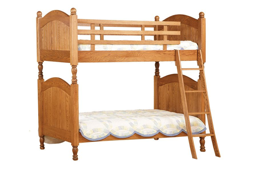Cape Cod Bunk Bed 34200. Shown with optional drawer unit