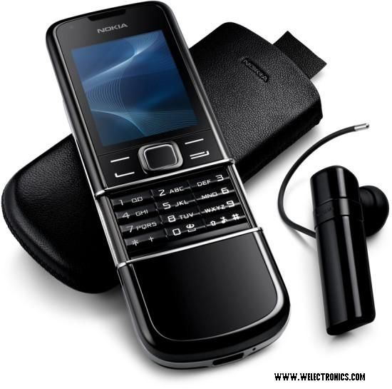 Nokia - 8800 Arte Mobile Phone – Specifications - Slide