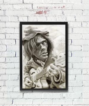 Neil Young - Ontwerp