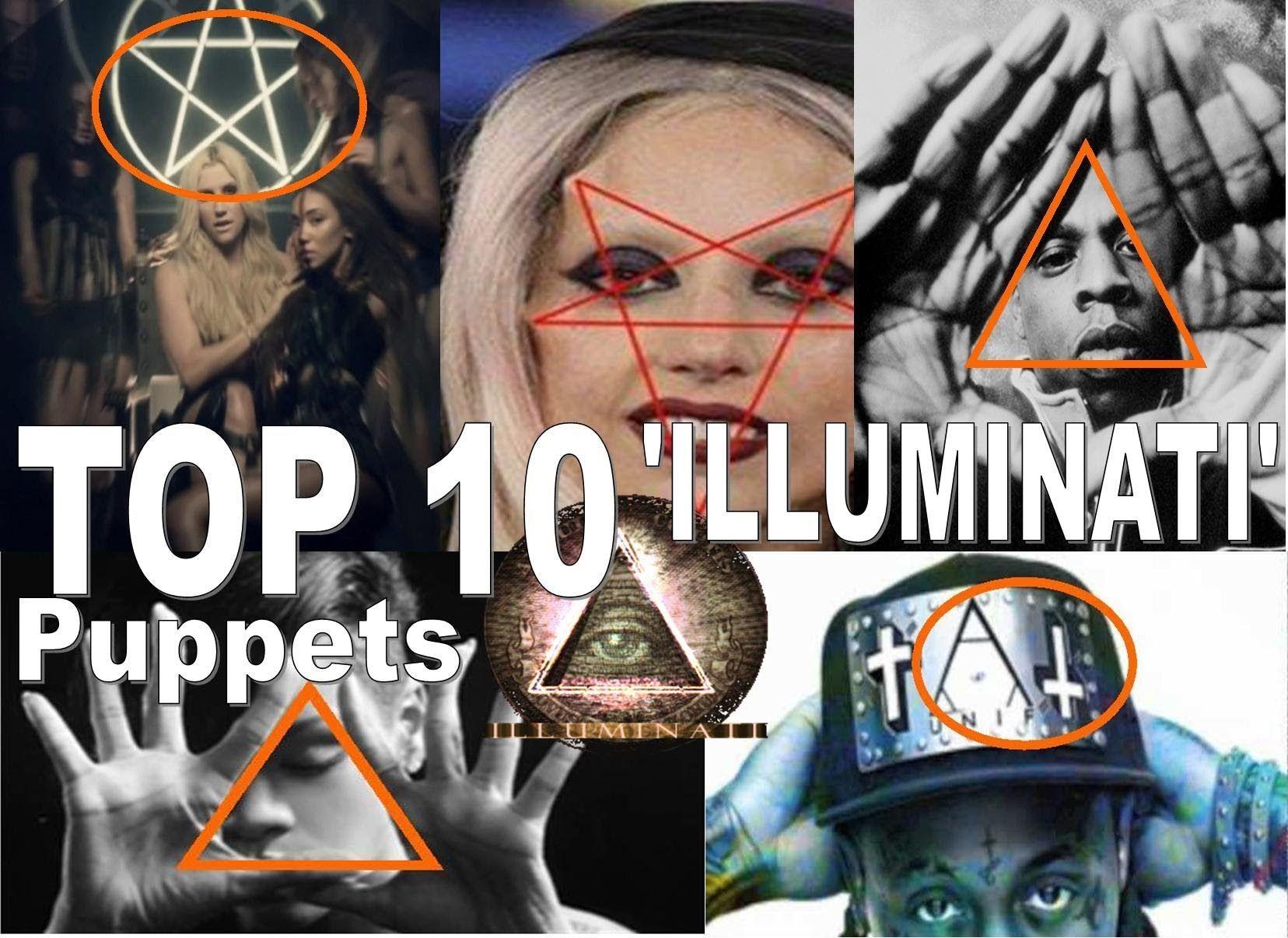 Top 10 Illuminati Pop Puppetscelebrities Satanic Music Industry