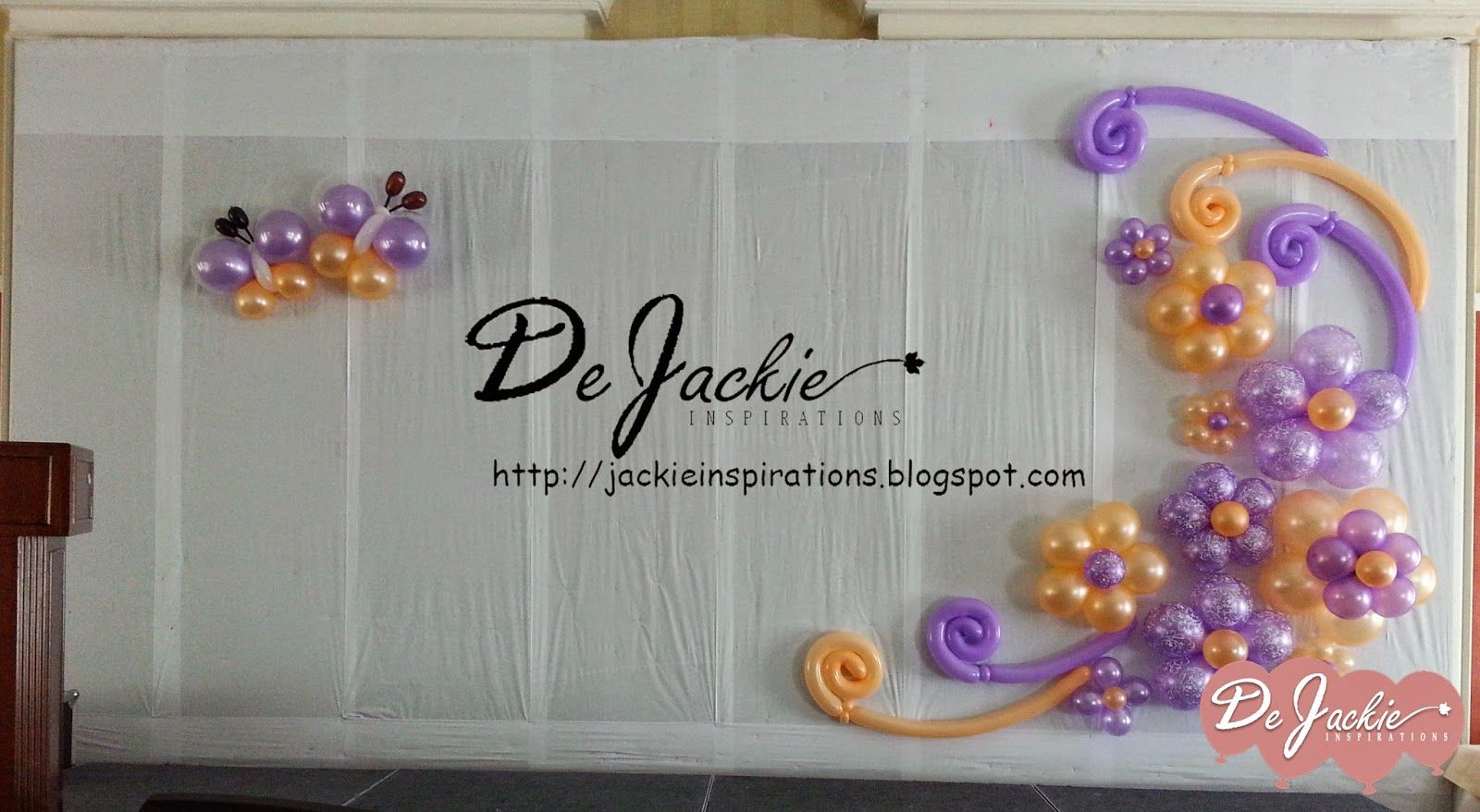 Balloon decorations for weddings birthday parties balloon back drop by jackie inspirations junglespirit Choice Image