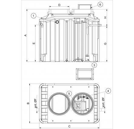 PACKAGE BIOXYMOP Microstation du0027épuration jusquu0027à 6 EH BIOXYMOP - assainissement d une maison
