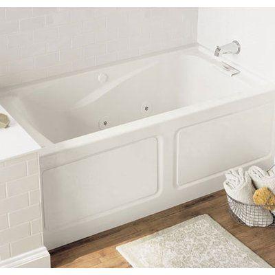American Standard Evolution 60 X 32 Drop In Whirlpool Bathtub