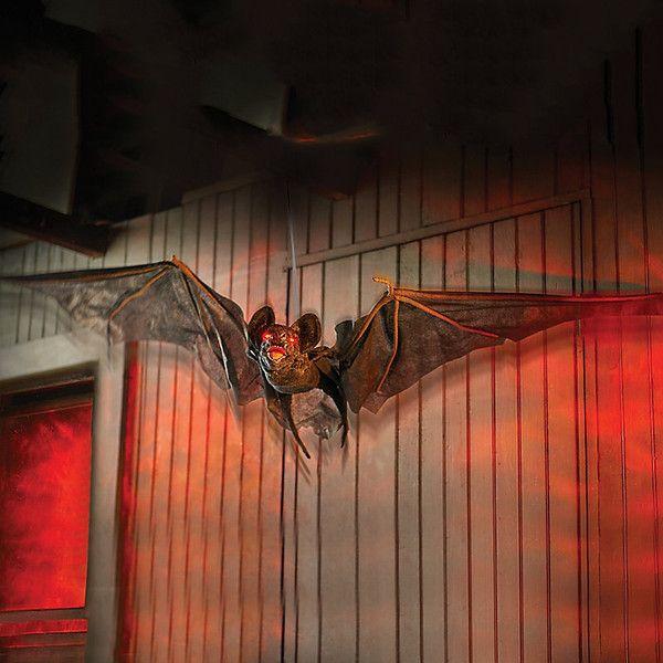 Improvements Animated Flying Bat Halloween Decoration ($25) ❤ liked - halloween decor images