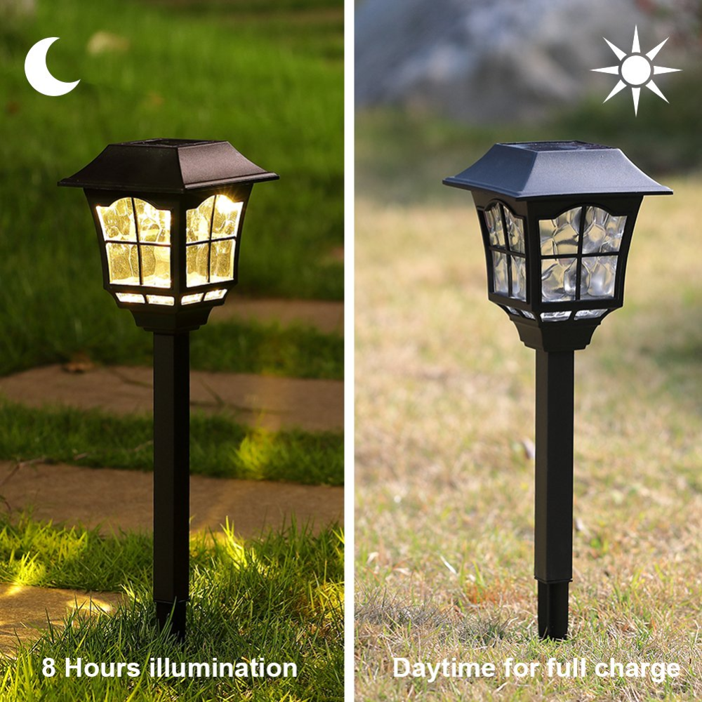 Maggift 6 Lumens Solar Pathway Lights Solar Garden Lights Outdoor Solar Landscape Lights For Lawn In 2020 Solar Landscape Lighting Solar Lights Garden Solar Landscape