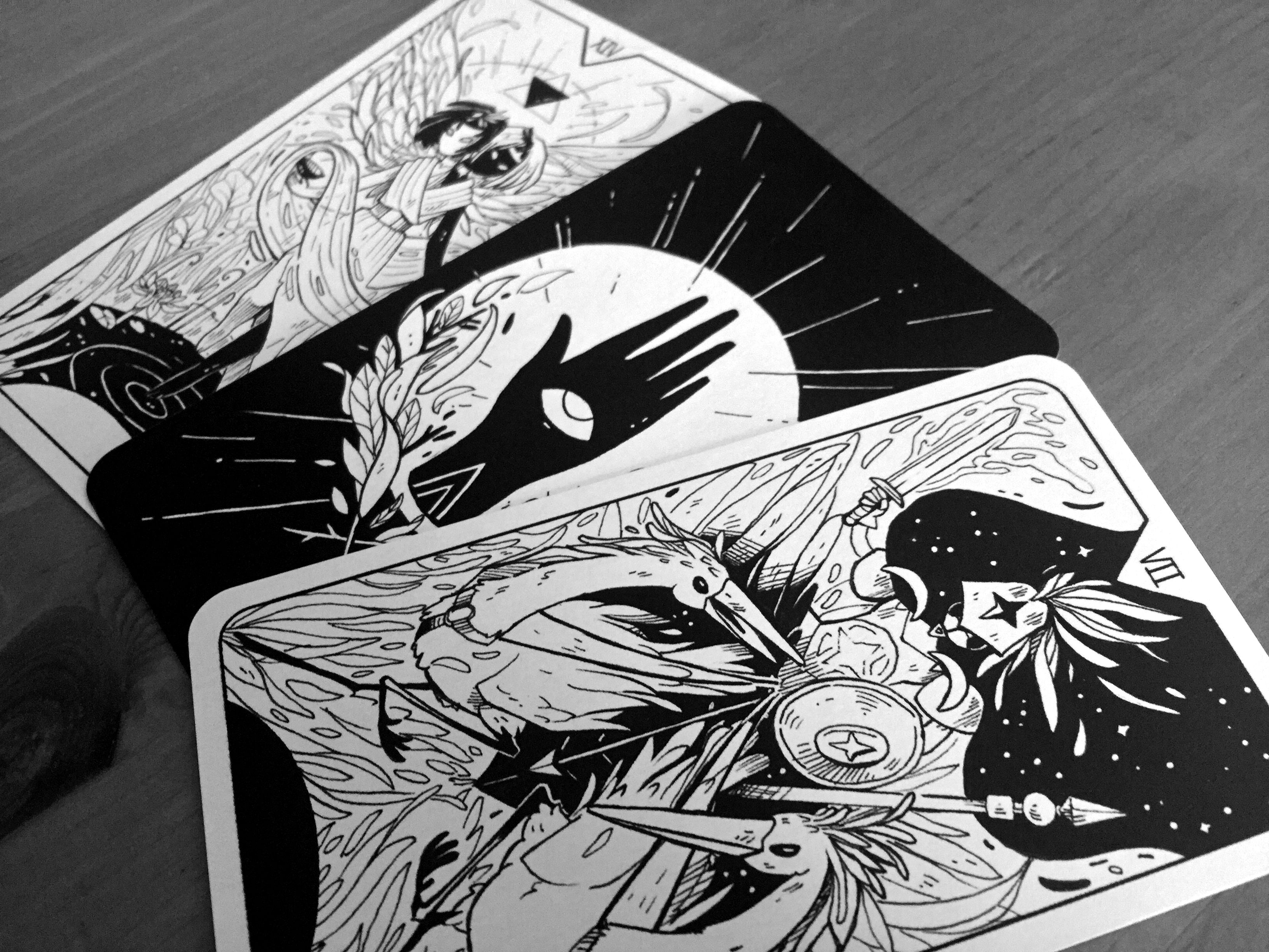 Major arcana dziff major arcana playing cards design art