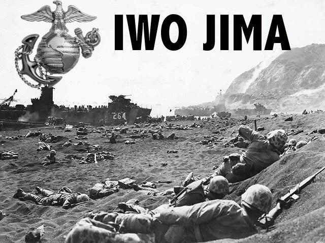 U.S.M.C.   iwo jima   Battle of iwo jima, Iwo jima, World ...  Usmc
