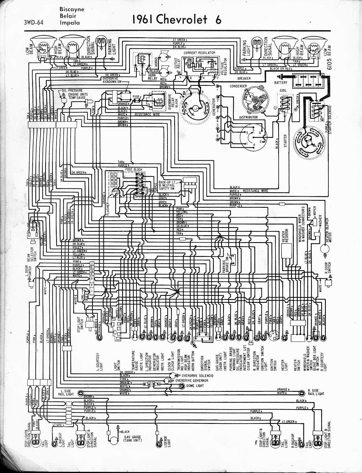 55 Chevy Headlight Switch Wiring Diagram