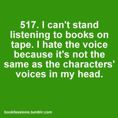 voice tape characters