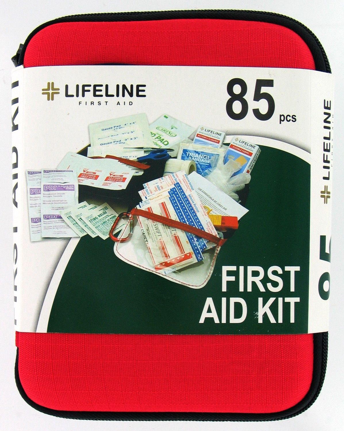 Lifeline First Aid 4408 85-Piece Large Hard Shell First Aid Kit