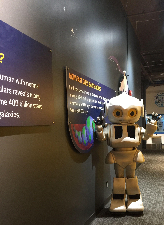 Science Museum Oklahoma City Oklahoma Robot Character