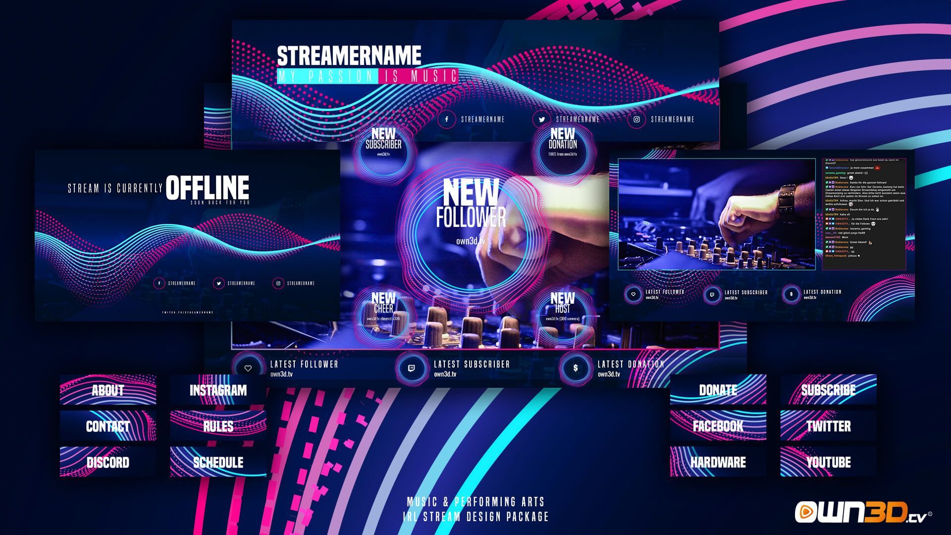 Best Animated Twitch Overlays 2019 and how to use them in
