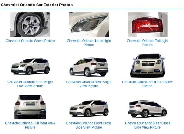 Chevrolet Orlando Price In India Rs 8 0 Lakhs Read Chevrolet