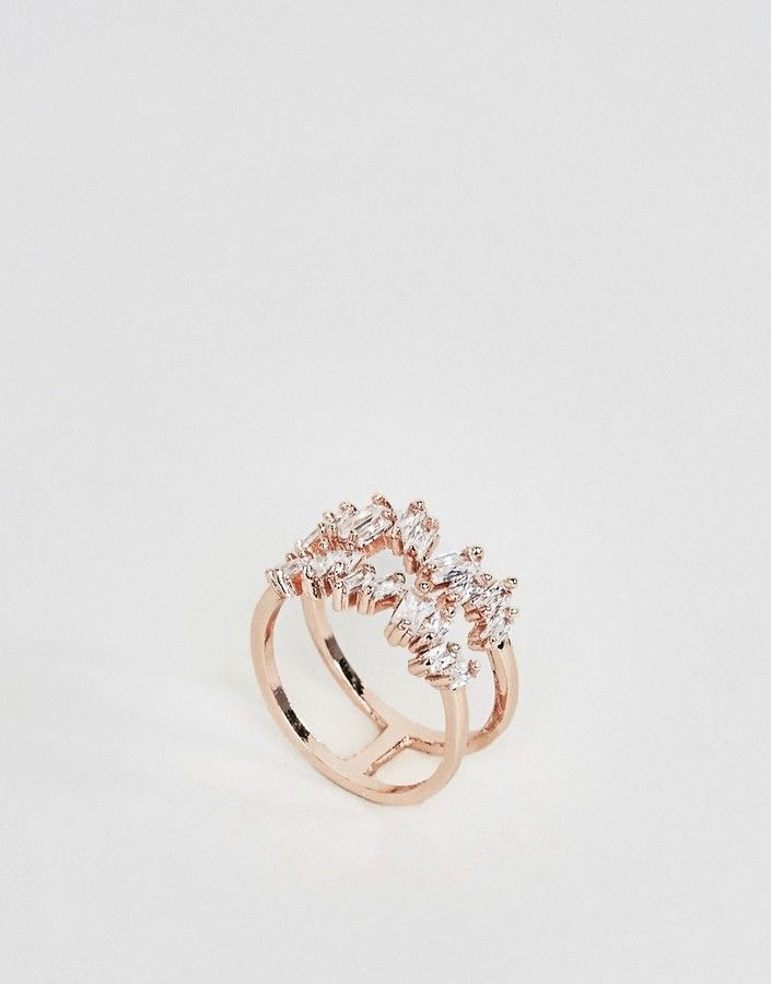 Aldo Keiviel Rose Gold Stacking Rings Womens Jewellery