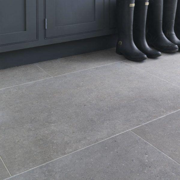 Isle Porcelain Pietra Concrete Look Tile Tiles Hall Flooring