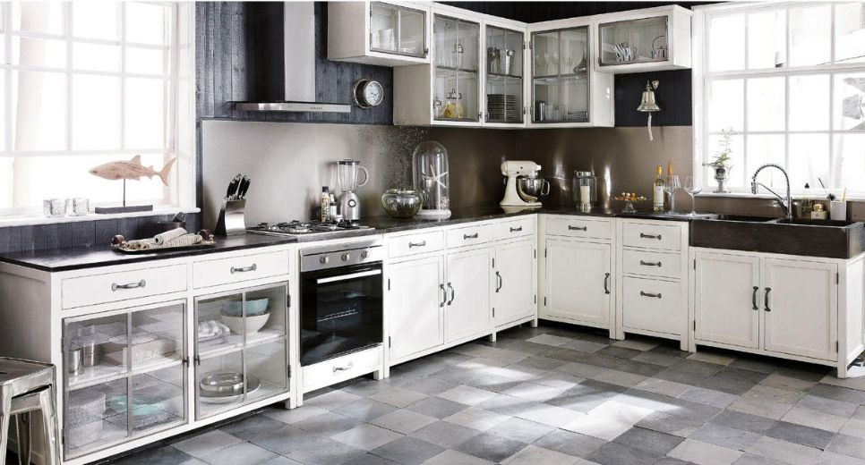 Love this new kitchen furniture by Maisons du Monde from ...