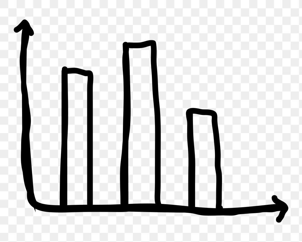 Hand Drawn Bar Chart Png Black Icon Free Image By Rawpixel Com Nunny How To Draw Hands Png Free