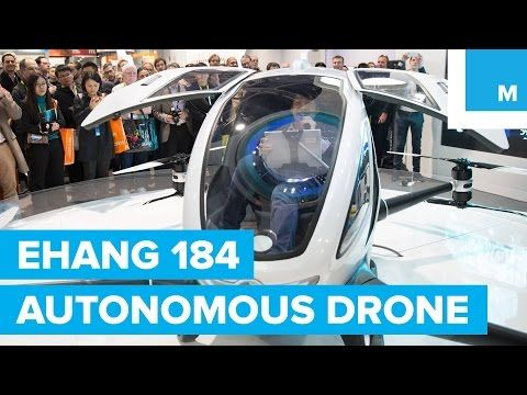 Ehang 184 avv drone: the new passenger carrying drone