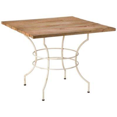 Terrain Live Wood Bistro Table   #shopterrain