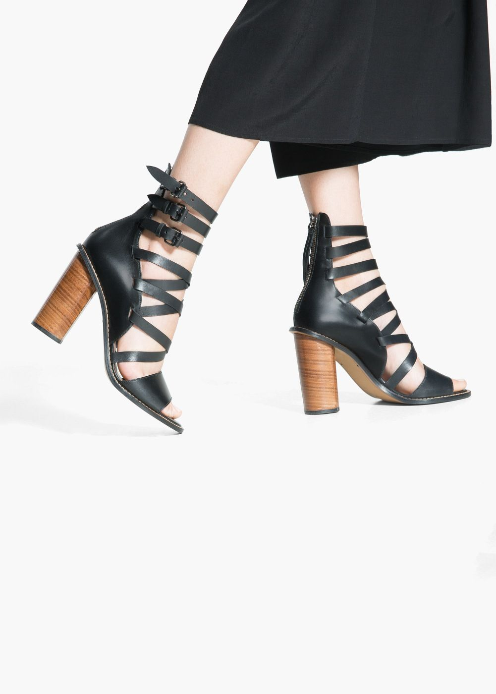 4d9c836621f Leather gladiator sandals - Women