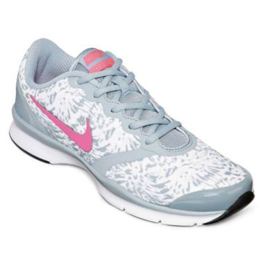 Nike Womens In-Season TR 4 Print Cross Trainer Shoes Dove Grey/Pnk Pw -  deal clean eating