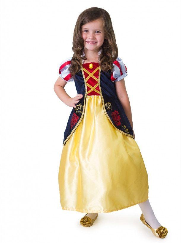 Satin Snow White Costume