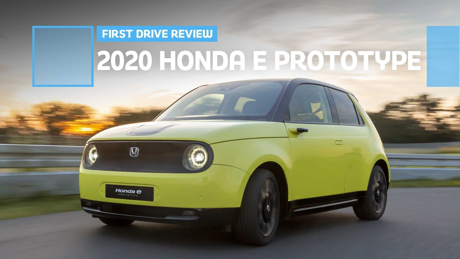 Honda E Electric Car Prices Specs And Performance Buyacar