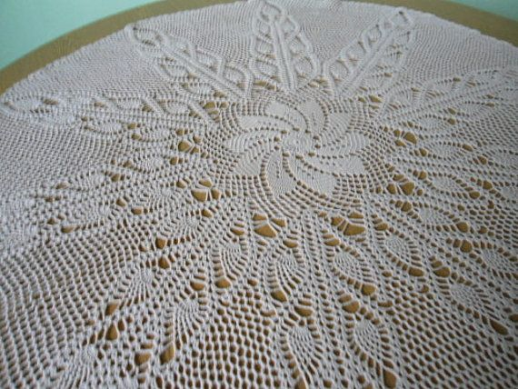 Manteles tejidos a crochet redondos imagui manteles y - Patrones tapetes ganchillo ...