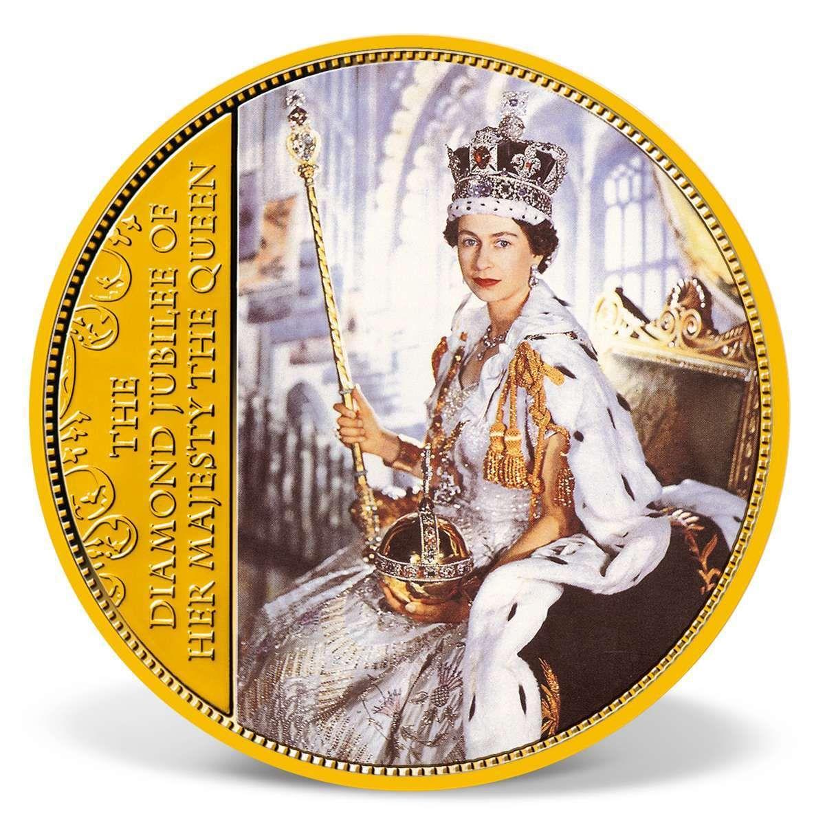 Queen Elizabeth II Diamond Jubilee Colossal Commemorative