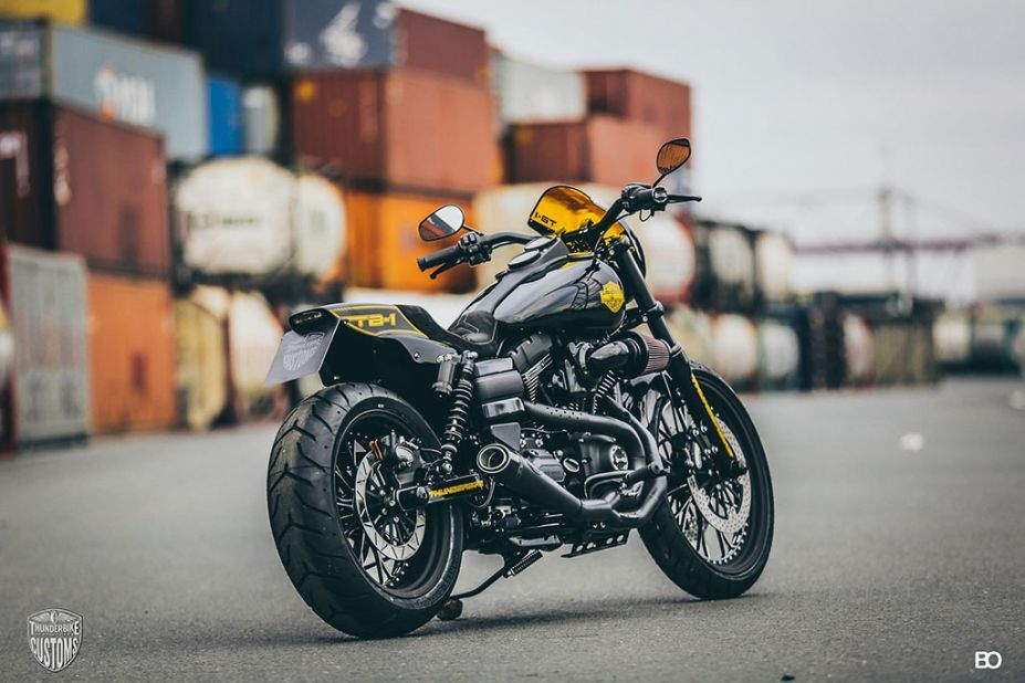 Tb 1 Superbike Customized Harley Davidson Dyna With Images