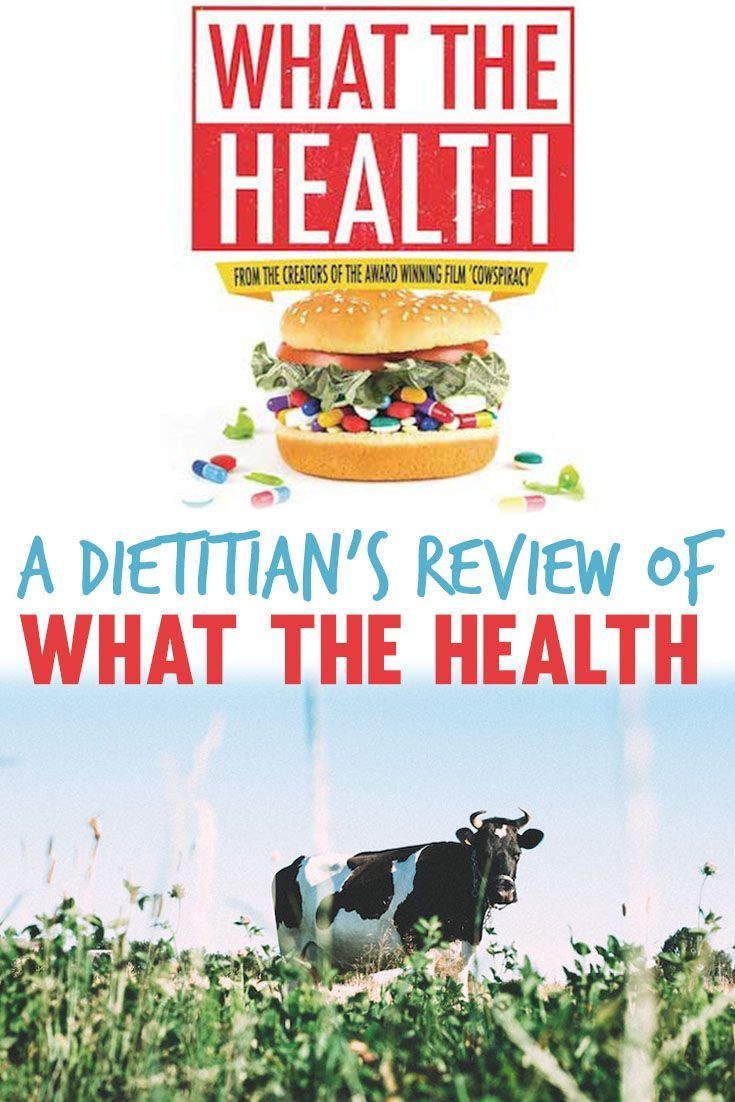 A What the Health review, a dietitian's thoughts on the