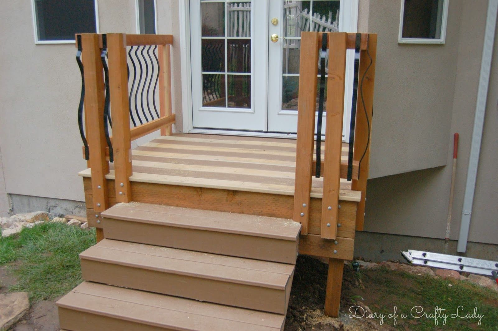 small deck steps Google Search Building a deck