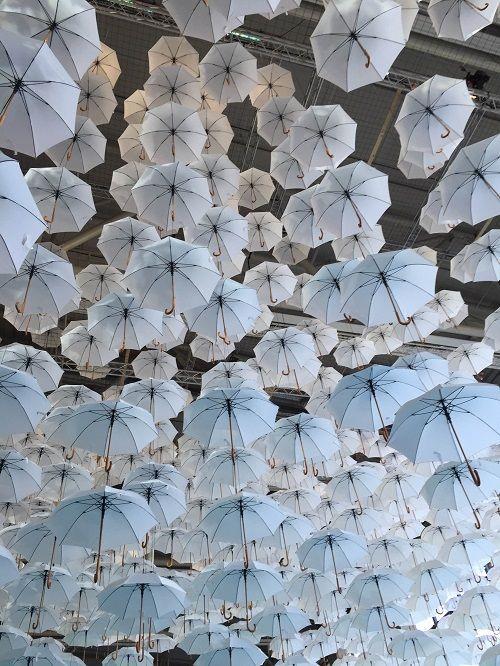 #Umbrellas at #Habitare 2015 design fair in Helsinki - photo by Designfriikki