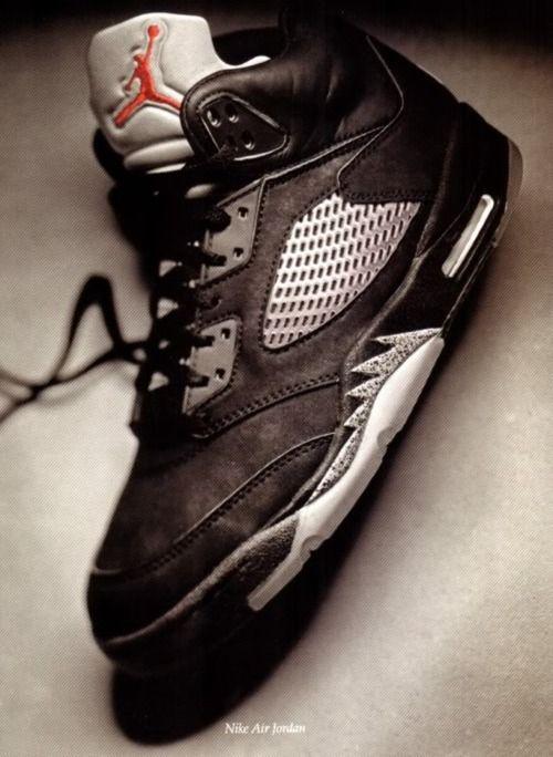 1486047cefbe ... VINTAGE-NIKE-AIR-JORDAN-5  sale retailer 55416 f7a5c Vintage Ad - Jordan  my favourite shoes ever ...