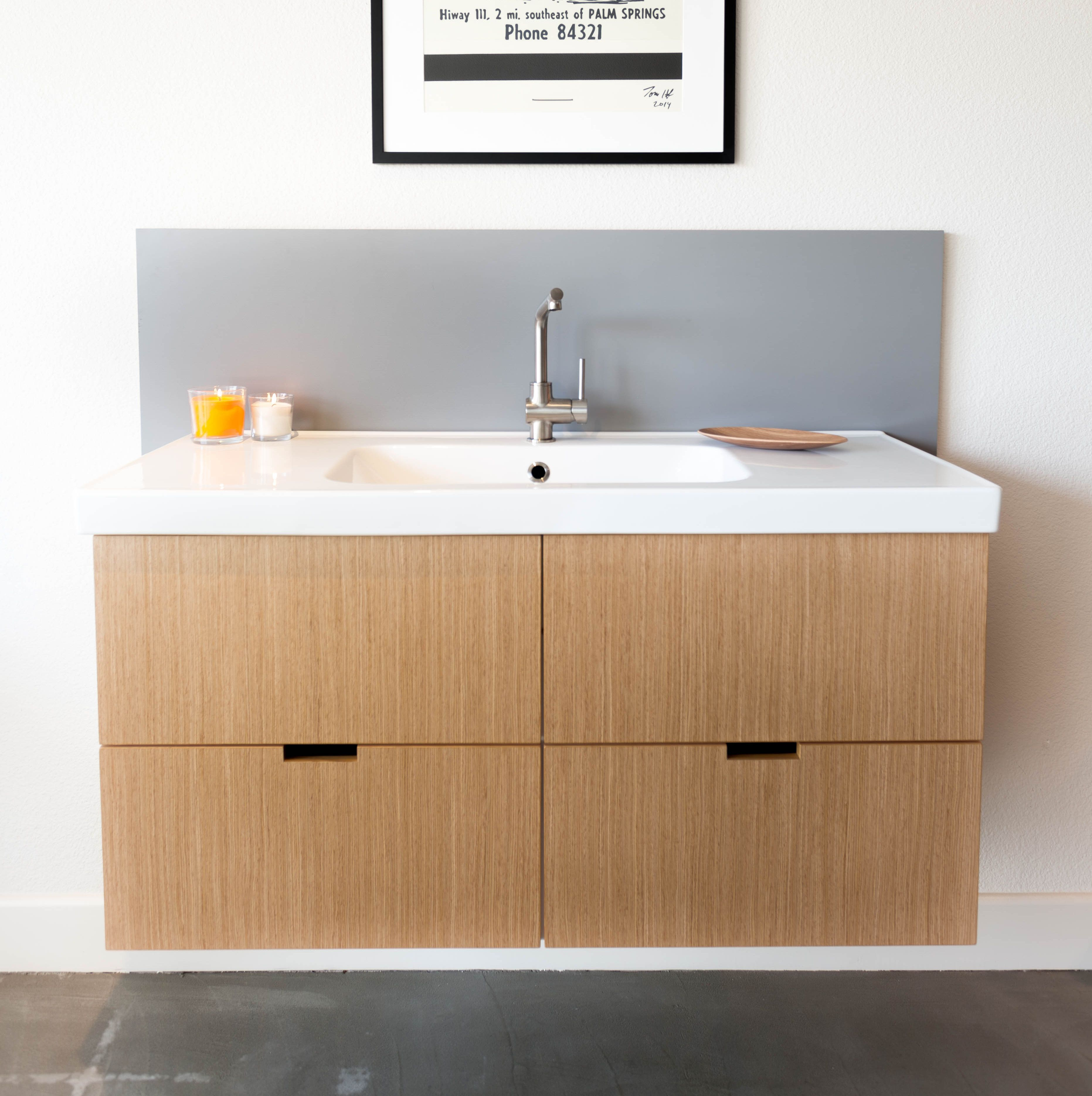 Semihandmade Eco Oak Ikea Godmorgon Cabinet Note Notches Are No Longer Available Ikea Godmorgon Eco Bathroom Bathroom Furniture