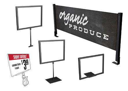 Retail Sign Holders Shelf Signage In Store Sign Solutions