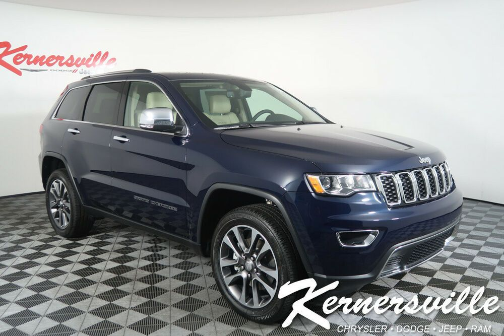 2018 Jeep Grand Cherokee Limited 4wd V6 Ecodiesel Suv Heated