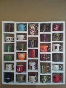 Como Organizar Las Tazas En La Cocina Decoracion Estante De Tazas Muebles De Cafe Ideas De Decoracion De Cocina