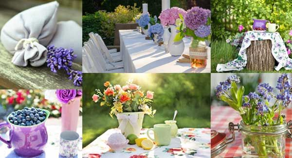 Different Ideas for Setting a Country Table for Your Party.