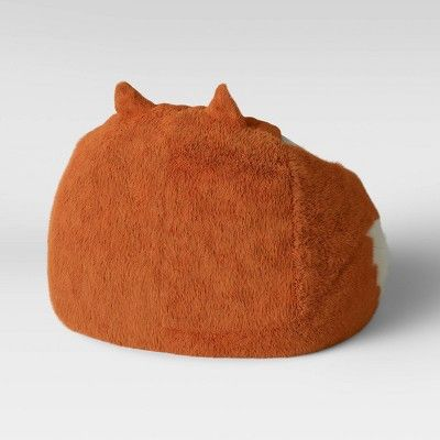 Character Bean Bag Chair Orange Fox Pillowfort In 2019