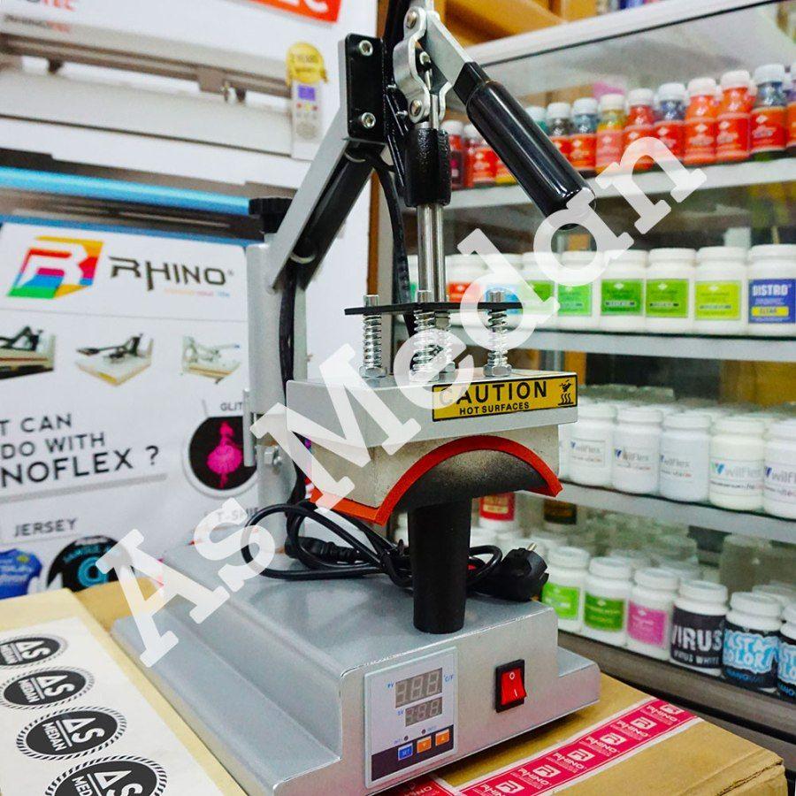 Harga Terbaru Alat Sablon Digital Mesin Press Topi
