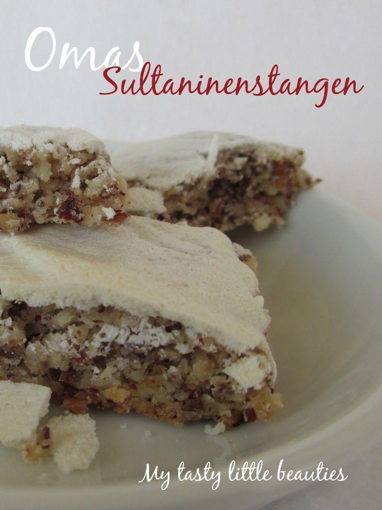 gesunde Sultaninenstangen reichlich mit Haselnüssen: ein Rezept mit Geschichte | My tasty little beauties